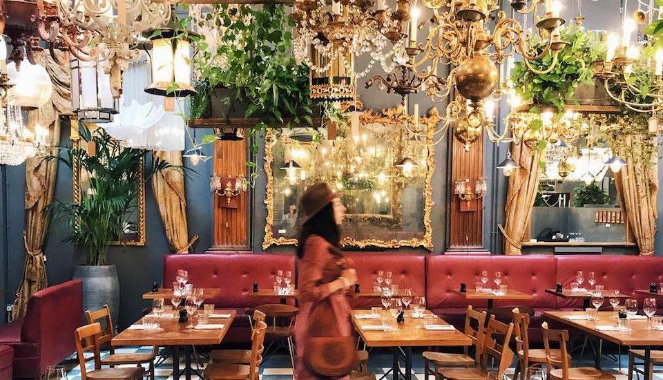 The Gorgeous Antique-Filled Restaurant Inside A Georgian Mansion • Brunswick House