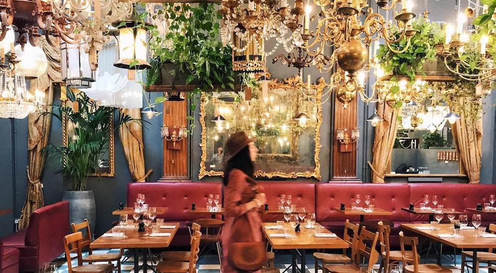 Prettiest restaurants