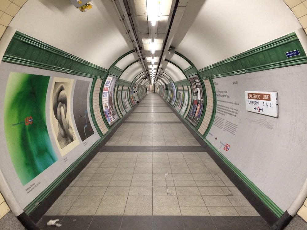 london underground poor air quality dust