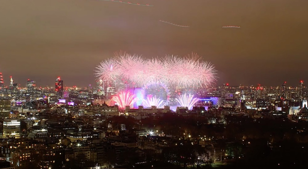 This Captivating Time-Lapse Shows LondonEntering 2019 In Style