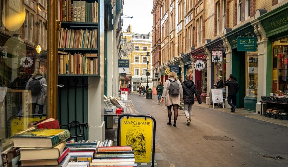 The Secret Alley Full Of Curious Old Bookshops • Cecil Court