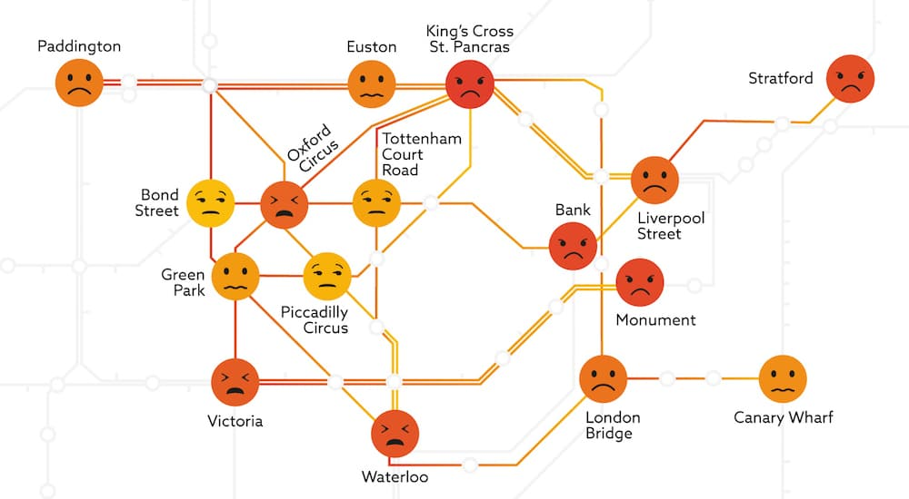 London's Most Stressful Underground Station Has Been Revealed