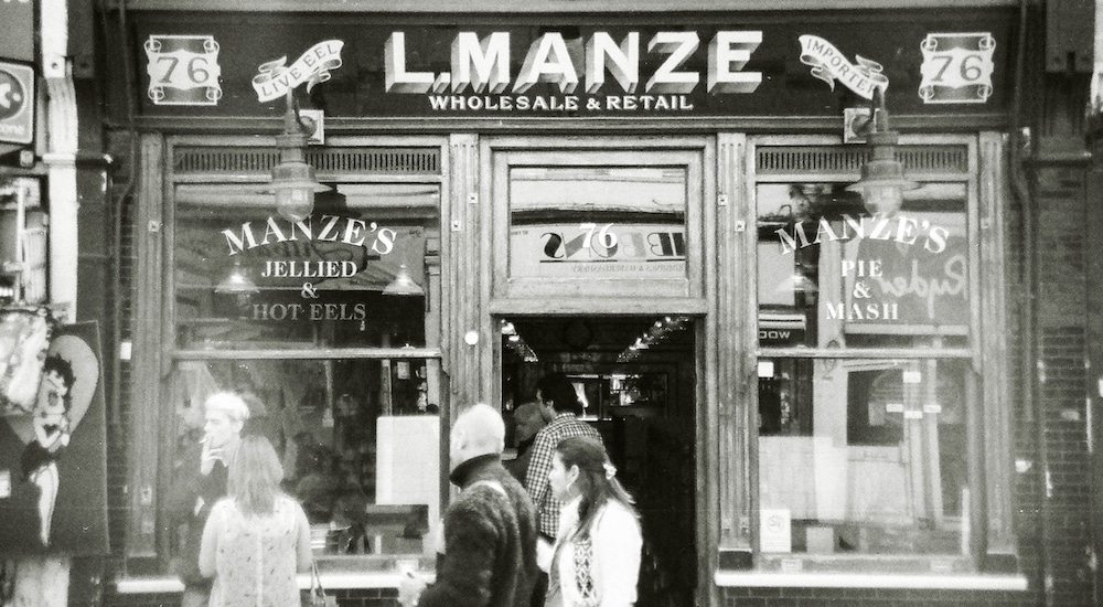 Manze's Pie and Mash Cocktail Bar –Jellied Ell