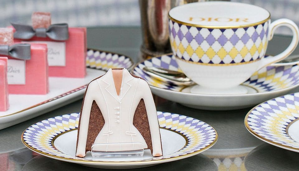 A Dior-Themed Afternoon Tea Has Arrived In London And It's Seriously Classy