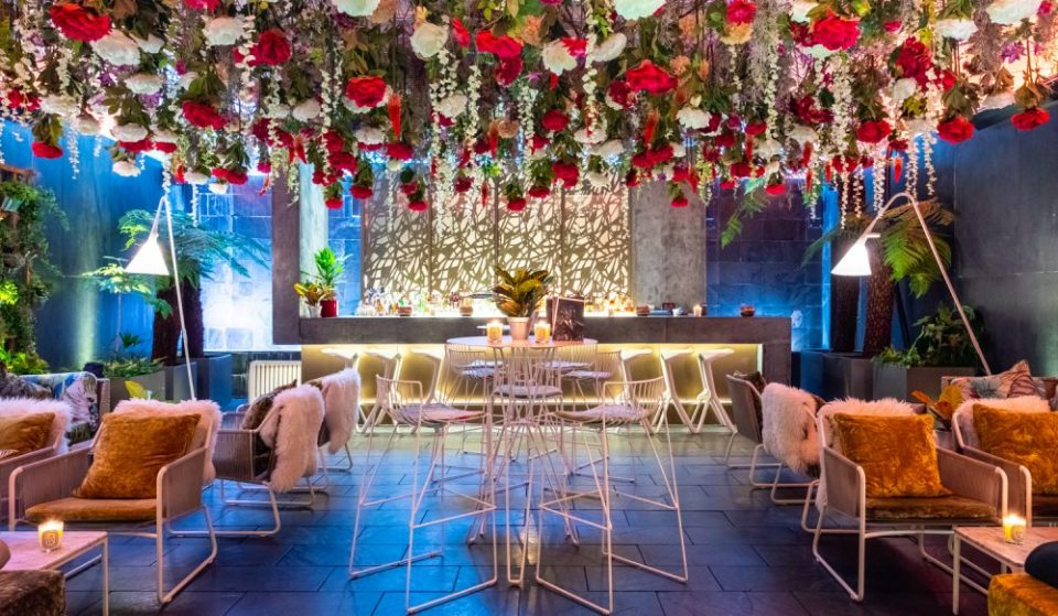 This Flower-Filled Gin Bar Is Blooming Lovely