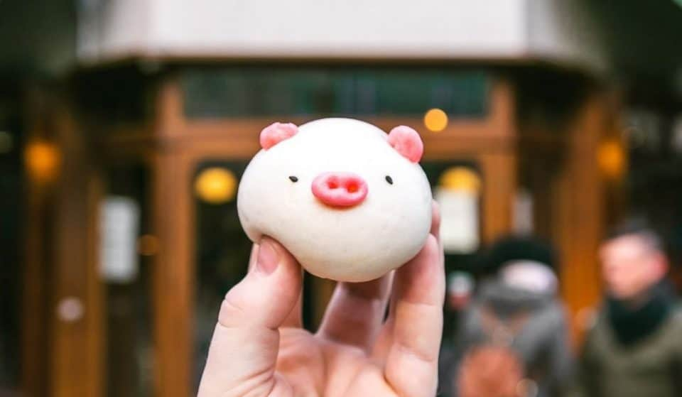 Celebrate Lunar New Year With These Cute Piggy Buns