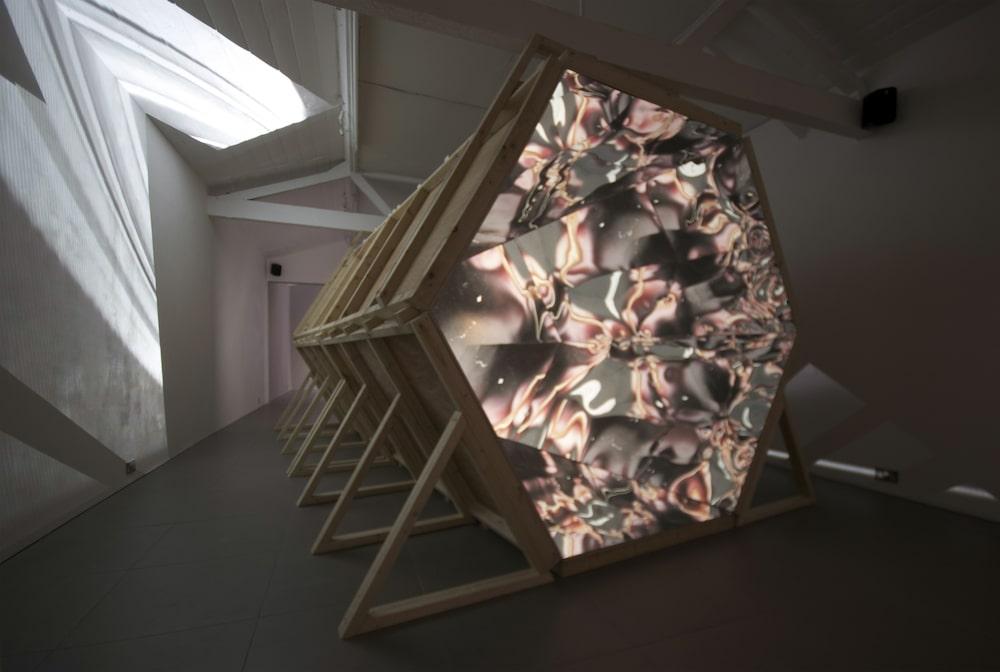 Giant Kaleidoscope London Saatchi Gallery