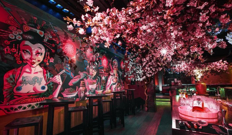 London's Beautiful Cherry Blossom Bar Is Back, And It's Serving Brunch