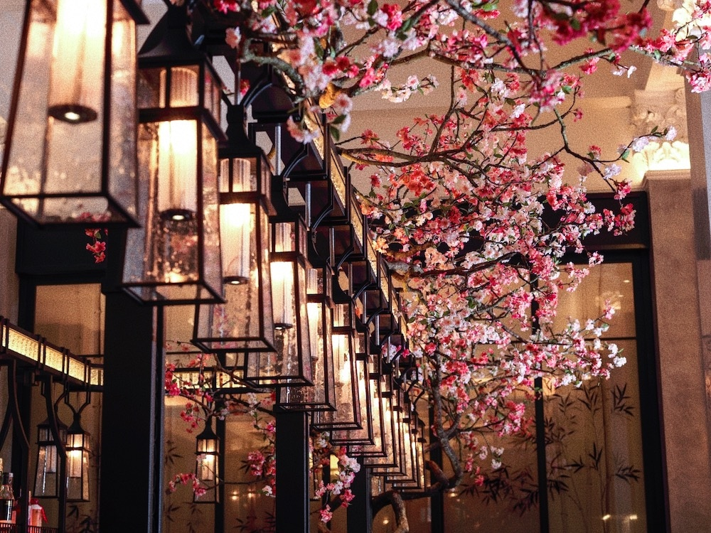 This Gorgeous Restaurant Is Celebrating Cherry Blossom Season In Style