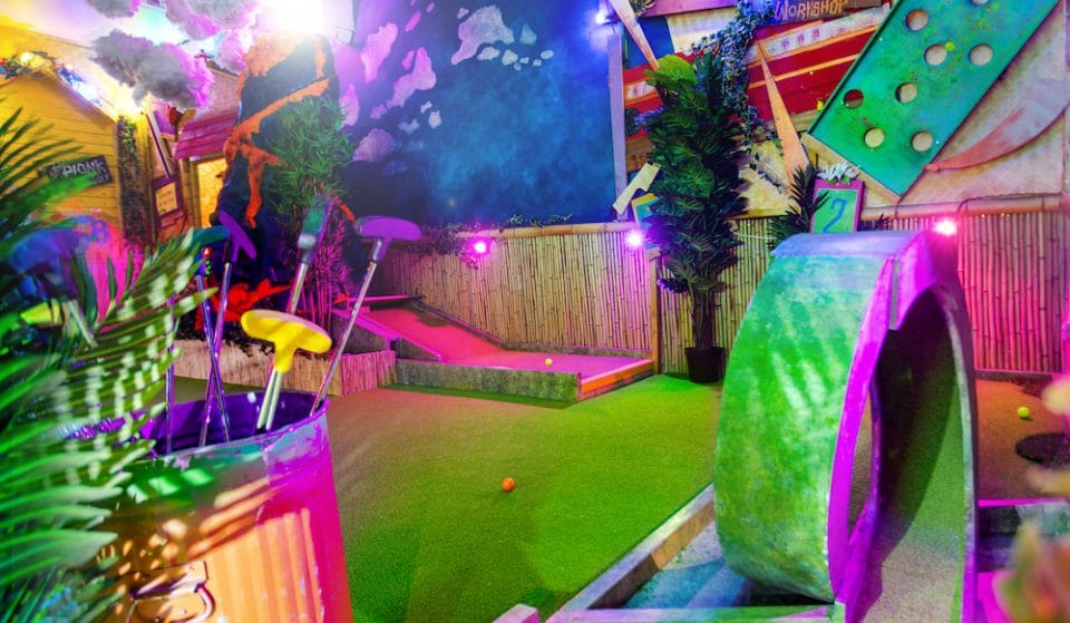 There's A New BYOB Crazy Golf Course In Shoreditch