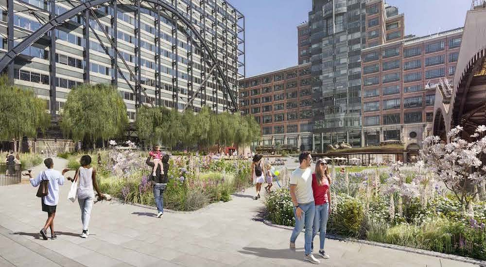 Central London Could Be Getting A Lovely New Park To Promote Wellbeing