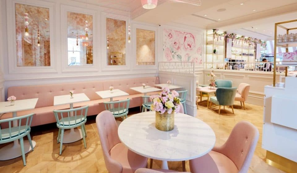 London's Hot Pink Bakery Has Opened A New Branch, And It's Got A Basement Cocktail Bar