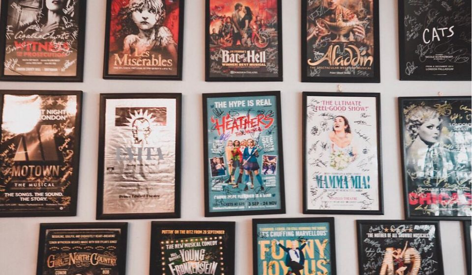 Inside London's All-Singing Musical-Themed Cafe • The Theatre Cafe