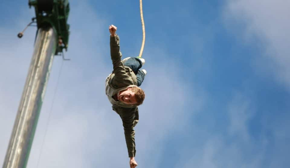 Adrenaline Junkies Can Now Bungee Jump High Above The O2 Arena