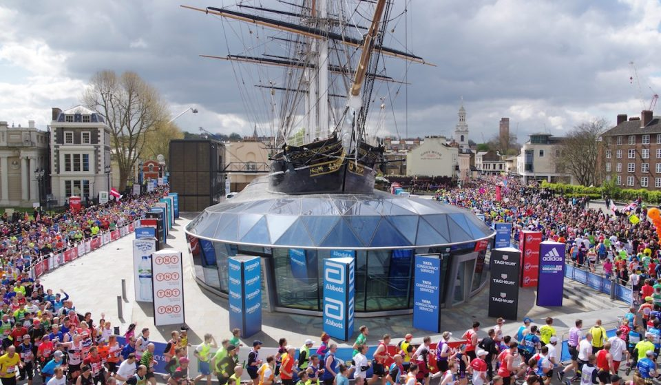Catch Fantastic Views Of The London Marathon Aboard The Iconic Cutty Sark