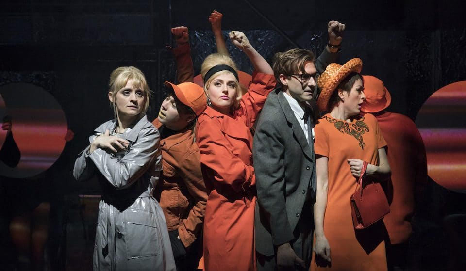 """Sweet Charity At London's Donmar Warehouse Is """"A Sparkling Take On A Classic"""""""