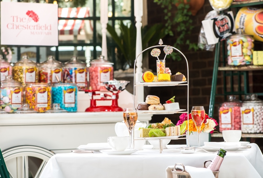 Sweet shop afternoon tea