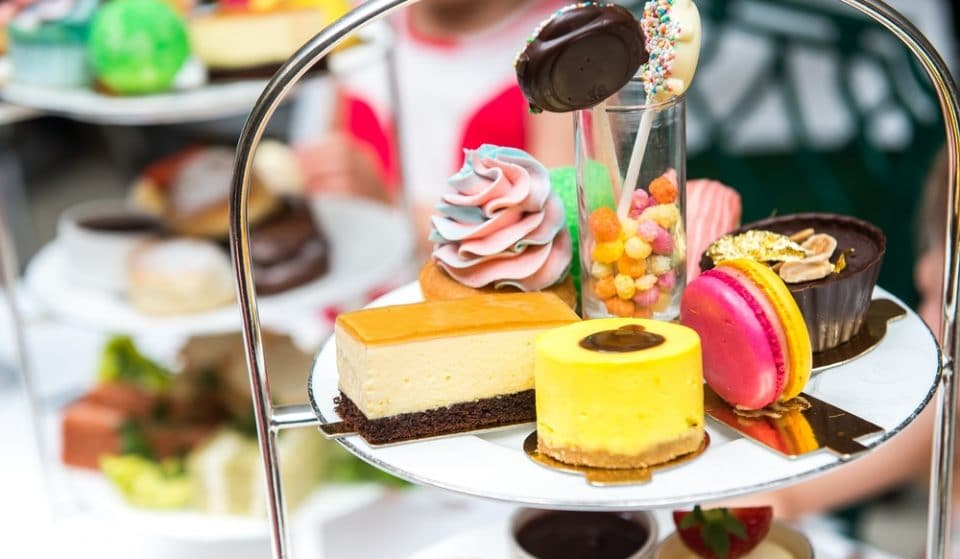 This Sweet Shop-Themed Afternoon Tea Is A Nostalgic Delight
