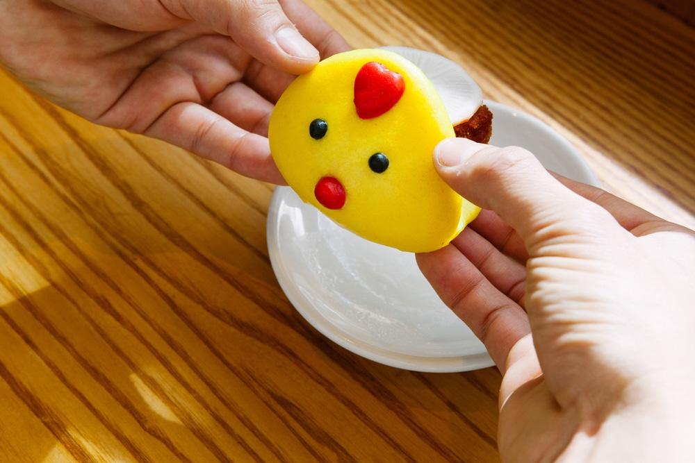Chicken nugget bao