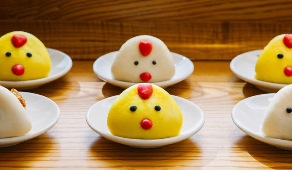 These Cute Chicken Nugget Bao Buns Are The Easter Treat You Need
