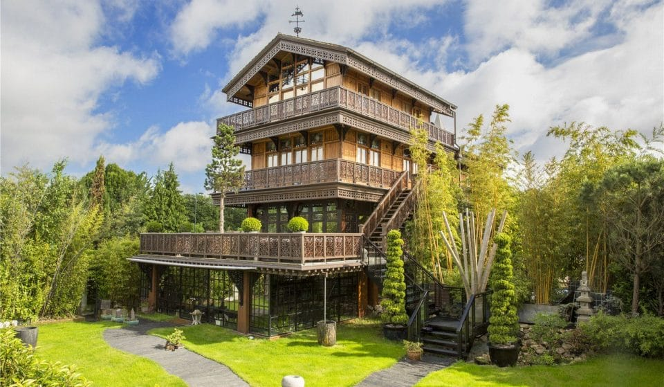 This Luxurious Riverside Chalet Is London's Ultimate Party House