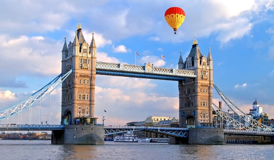 Catch A Flock Of Hot Air Balloons Flying Over London This Weekend