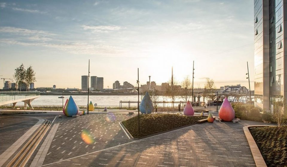 This Huge, Fancy New Park Has Just Opened Next To The Thames