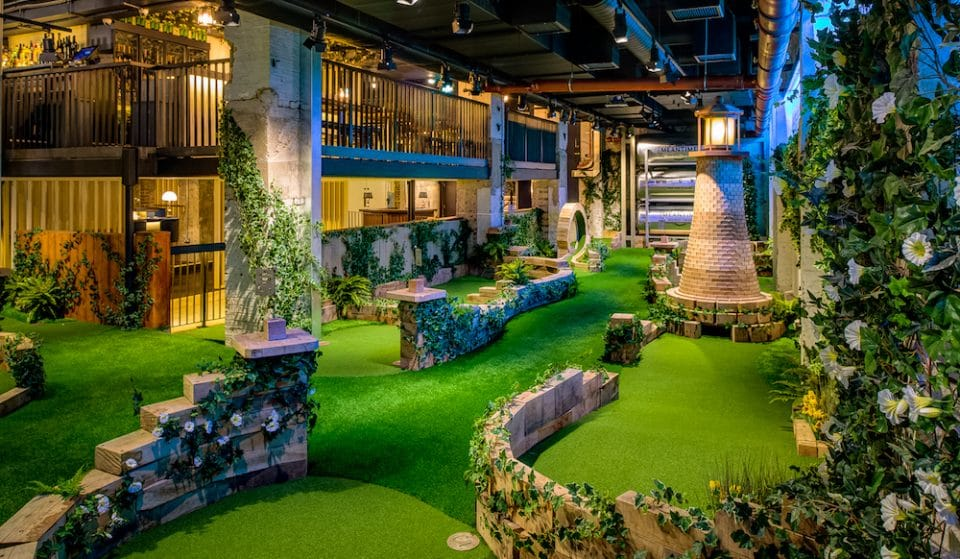 London's Craziest Golf Course Is Throwing A Big Boozy Gin Party