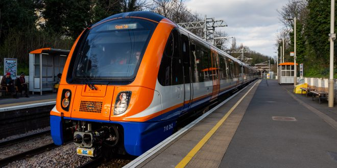 These Sleek New Electric Trains Are Coming To An Overground Near You