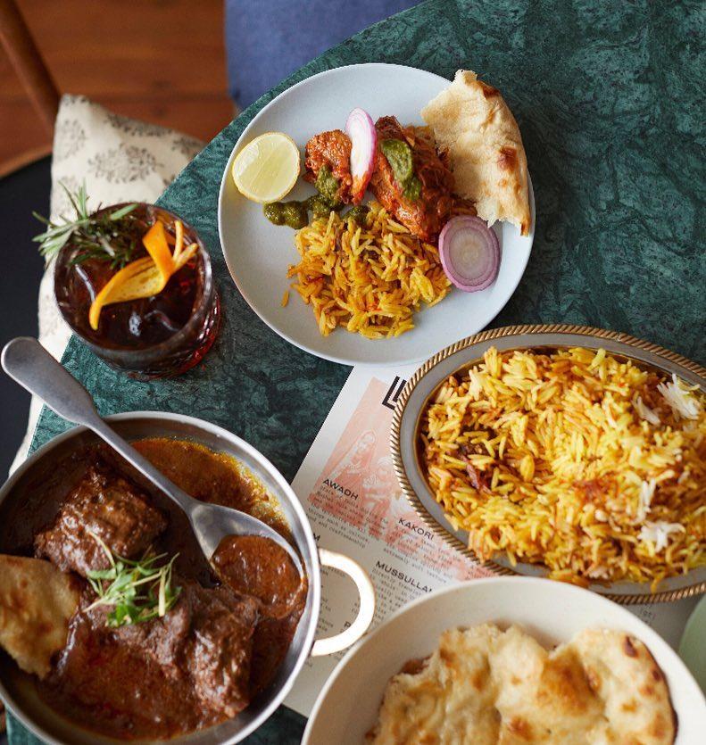 Oxford Circus Restaurants Curry