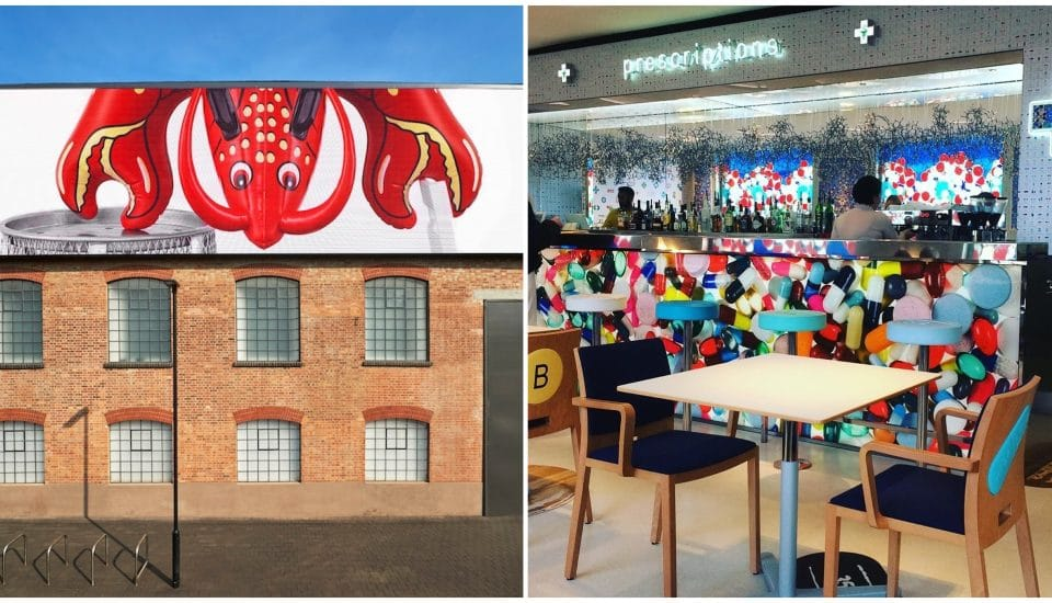 Inside Damien Hirst's South London Gallery And Pharmacy-Themed Café