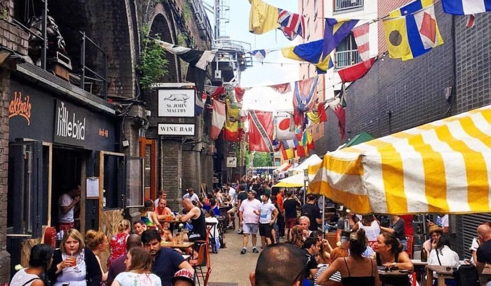 This Hidden London Market Is A Foodie's Paradise • Maltby Street Market