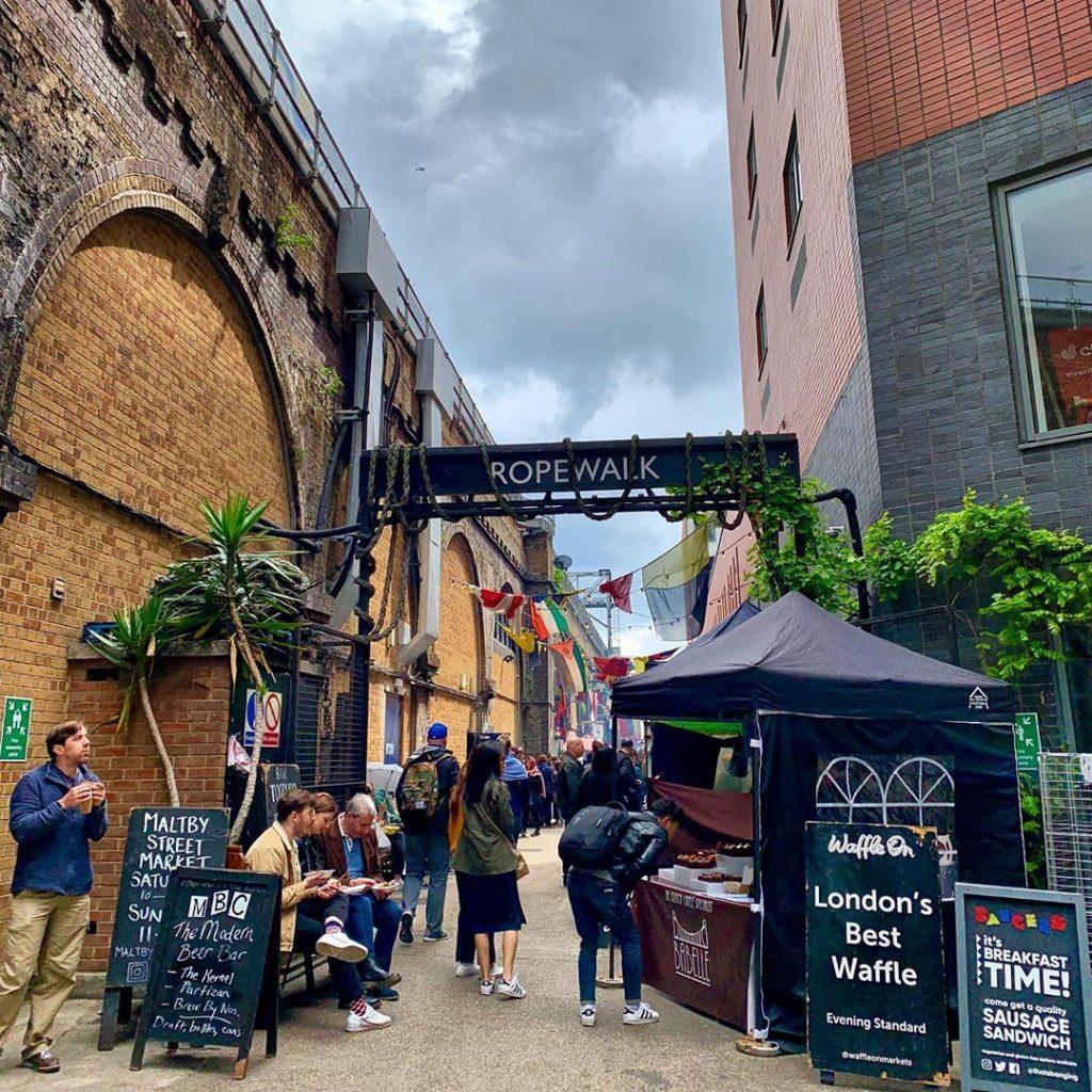 Maltby Street Market • London's Hidden Foodie Market [Full Guide + Info]
