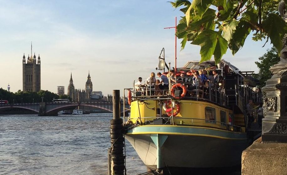 A Fab Floating Bottomless Brunch Club Launches On The Thames This May