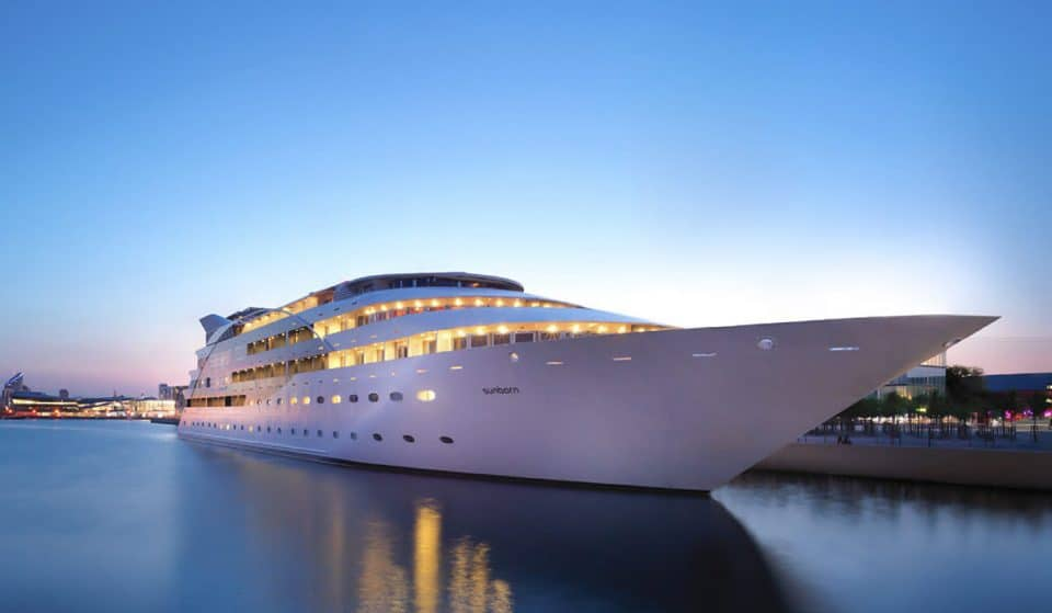Dine On A Fancy-Pants Super Yacht Like The Kings And Queens You Are