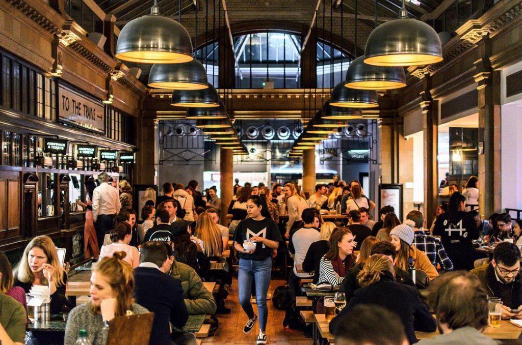 Market Hall Canary Wharf