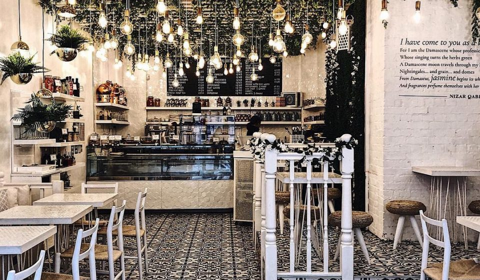This Stunning Syrian Cafe Is An Instagrammer's Paradise • Jardin Du Jasmin