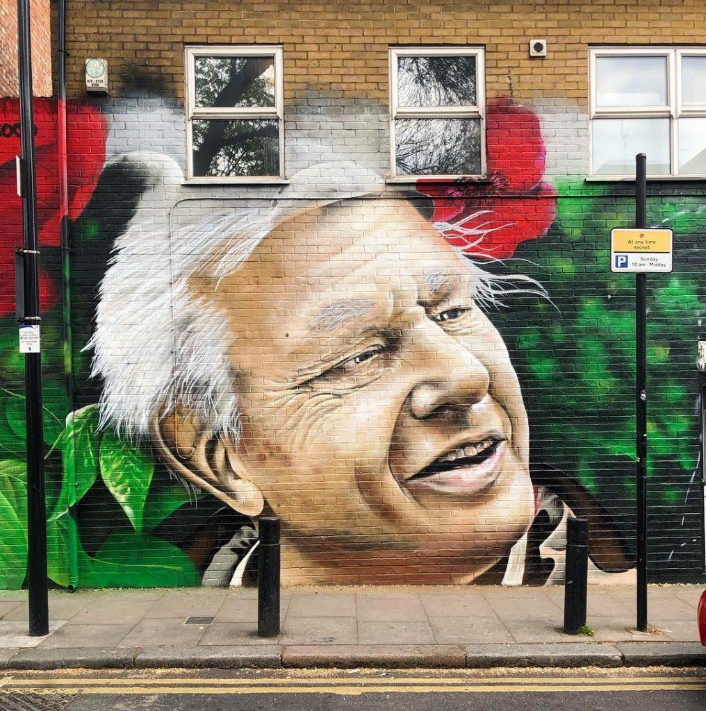 Attenborough Mural