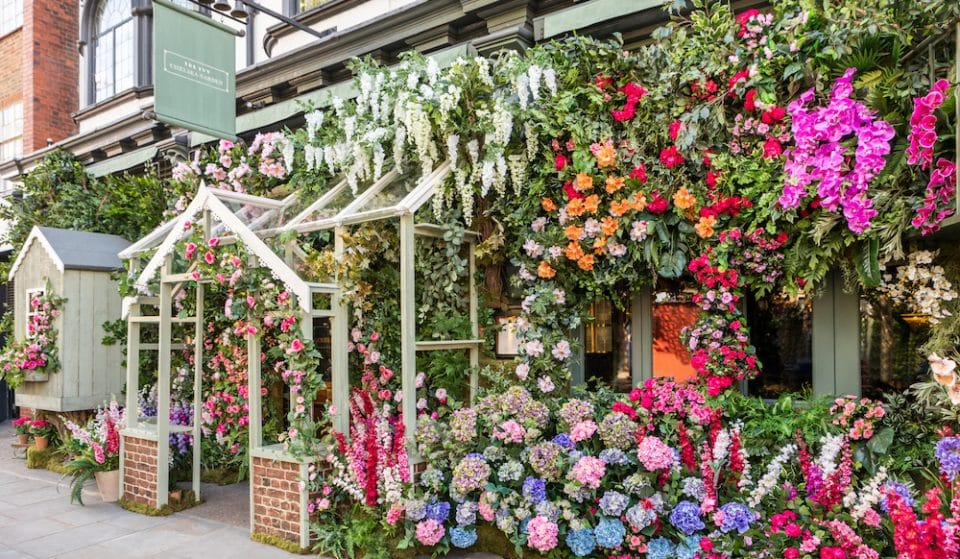 The Ivy Chelsea Garden Has Unveiled A Fabulous Floral Façade For The Summer