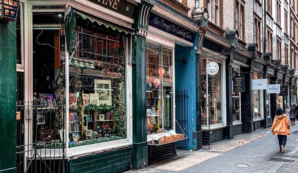 This Curious Bookshop Is Dedicated ToAll Things Alice In Wonderland • Alice Through The Looking Glass