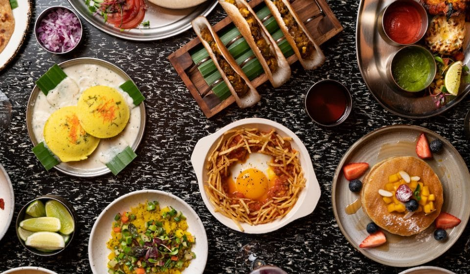 This Dazzling Sunday Brunch Serves Samosas, Dosas And Mimosas