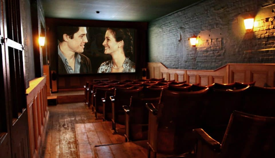 Catch A Special Anniversary Screening Of Notting Hill At London's Hidden Cinema