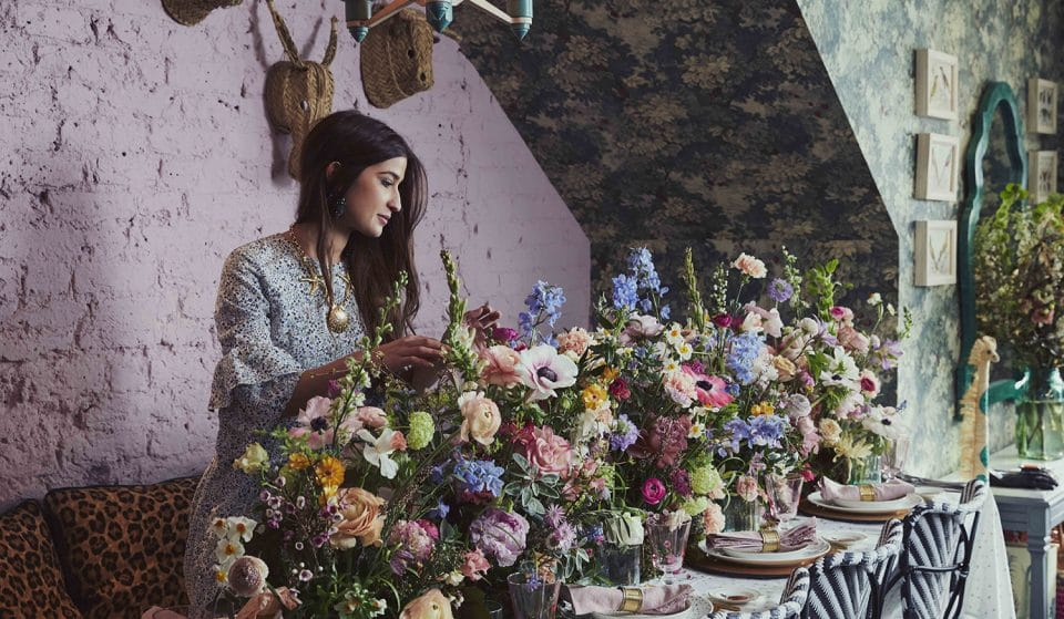 This Gorgeously 'Grammable Exhibition Celebrates British Flowers And Foliage