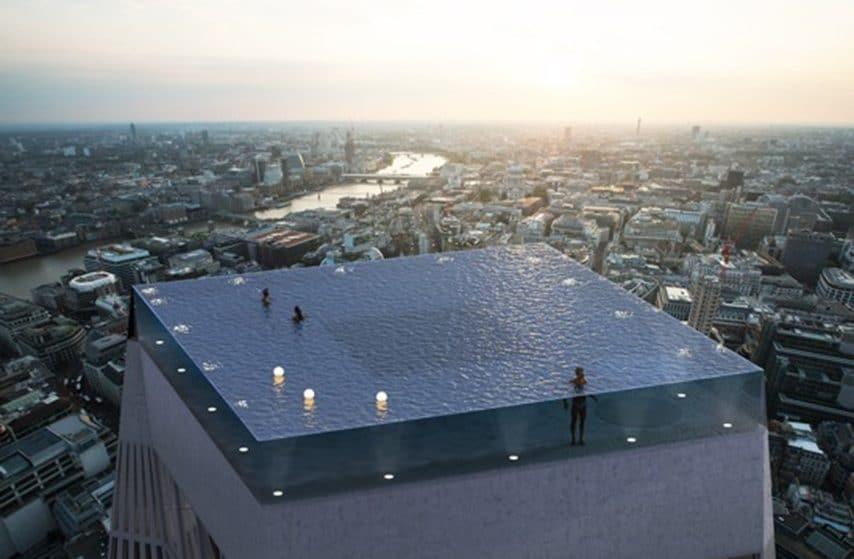 This Jaw-Dropping Infinity Pool Could Be Coming To London Soon