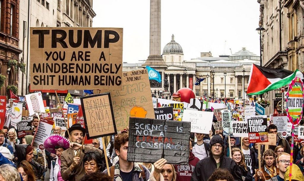 The Many Magnificent Ways That London Has Trolled Trump During His State Visit