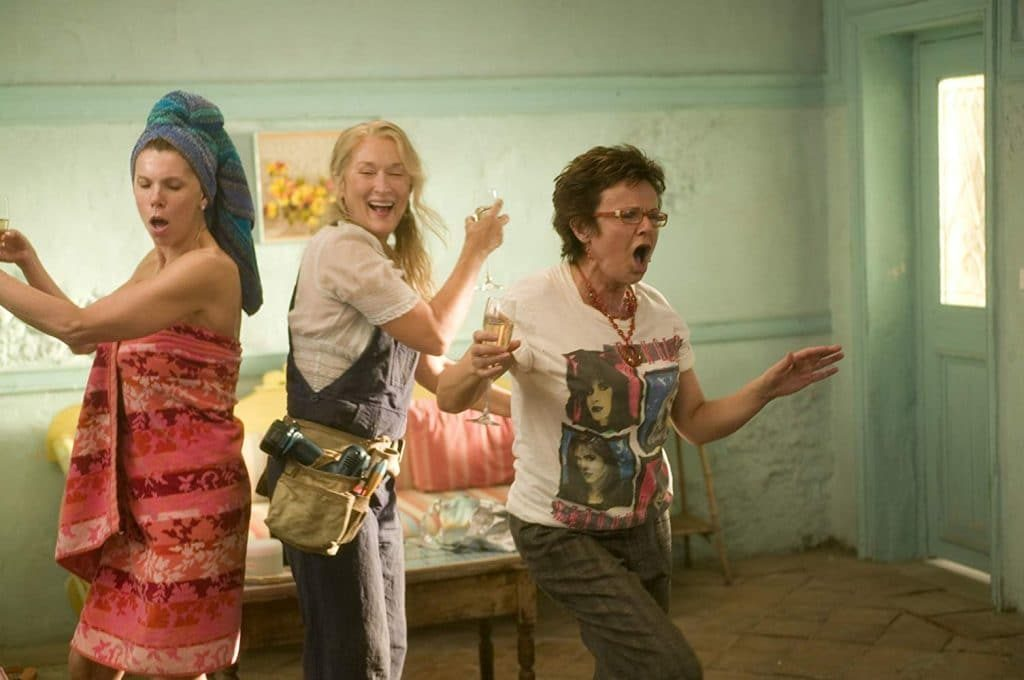 A Sing-Along Screening Of Mamma Mia With Bottomless Popcorn Is Coming To London