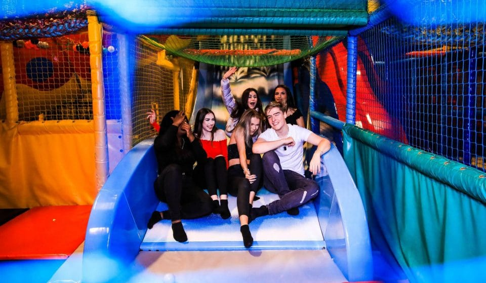 This Deliriously Fun Bottomless Brunch Features An Adults-Only Indoor Play Area