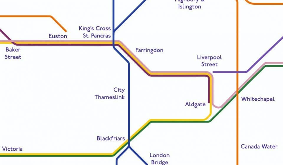 This Tube Map Shows You All The Underground Lines With Air Conditioning
