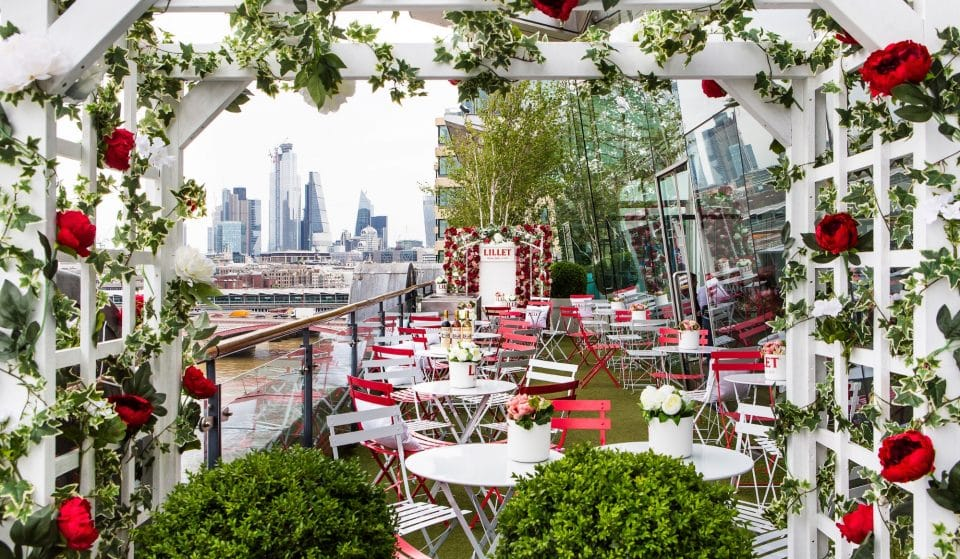 Lillet's French-Themed Floral Oasis Is A Must-Visit For Cocktail Lovers