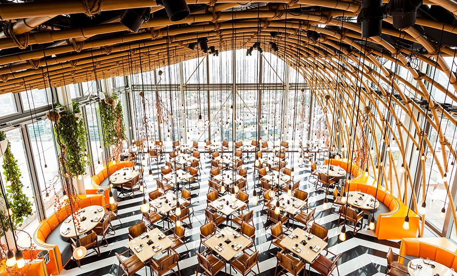 Duck & Waffle And SUSHISAMBA Combine At This Epic, Sky High Brunch Party